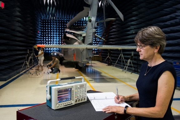 electronic warfare Karen studying