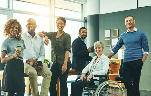 全球多样性团队