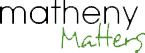 Matheny Matters Logo