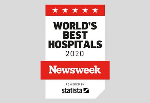 Newsweek World's Best Hospital 2020