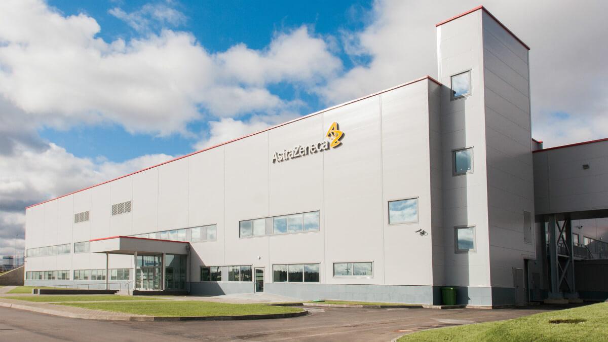 AstraZeneca plant in Russia