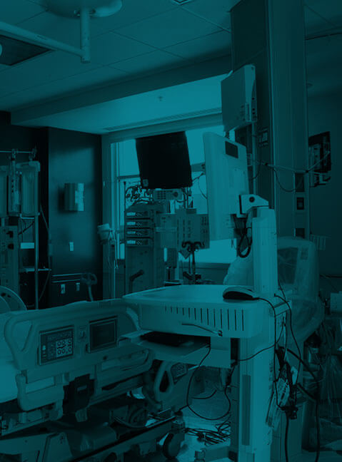 Hospital Room at UNM Hospitals