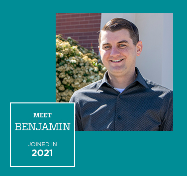Meet Ben, Joined in 2019