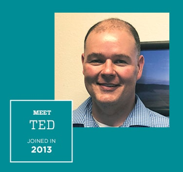 Meet Ted, Joined in 2013