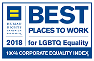 2018 Best Places To Work for LGBTQ Equality