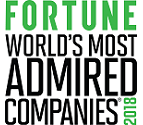 2018 Fortune - World's Most Admired Companies
