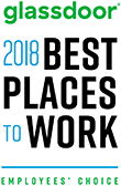 2018 Glassdoor - Best Places To Work - Employees Choice