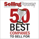 SellingPower 50 Best Companies to Sell For award
