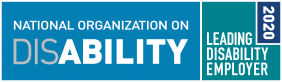 The National Organization on Disability - 2020 Leading Disability Employer award