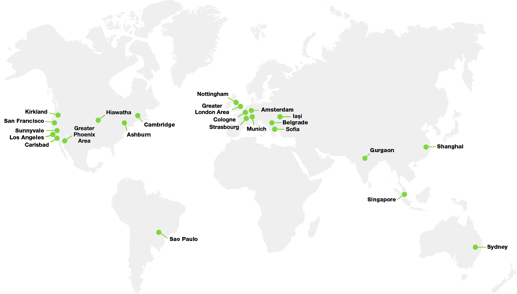 GoDaddy Locations