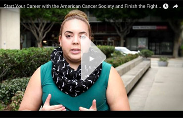 Start Your Career with the American Cancer Society and Finish the Fight: Michaela