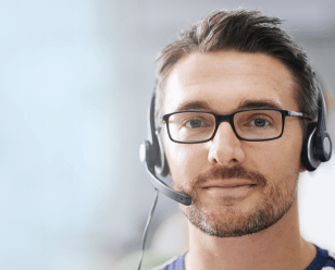 Sales and service, call centres
