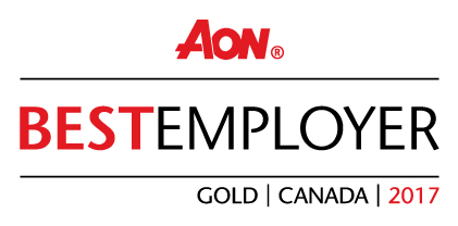 Aon Best Employer Gold Canada 2017