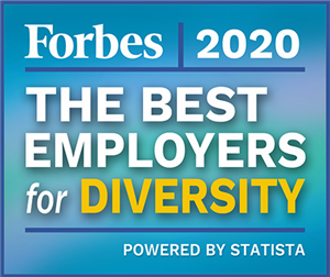 Best Employers for Diversity 2020 according to Forbes