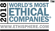 2018 World's Most Ethical Companies www.ethisphere.com