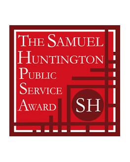 The Samuel Huntington Public Service Award