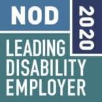 National Organization on Disability leading disability employer 2020