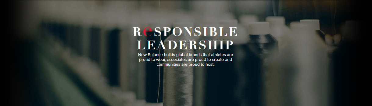 Responsible leadership, New Balance builds global brands that athletes are proud to wear, associates are proud to create and communities are proud to host.