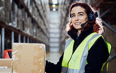 As a Warehouse Colleague, I do a whole range of operations – from warehouse picking to admin.