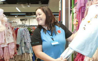 Photo of Holly, Primark Retail Assistant.