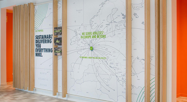 Nike World Headquarters Campus Map.Eu Logistics Campus