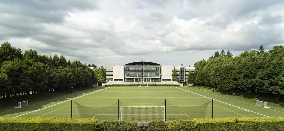 cf05a49b6 Lake Nike sits at the center of campus
