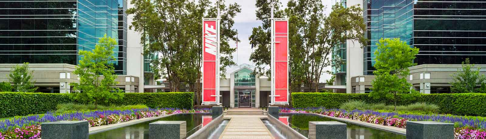 Exterior of Nike HQ