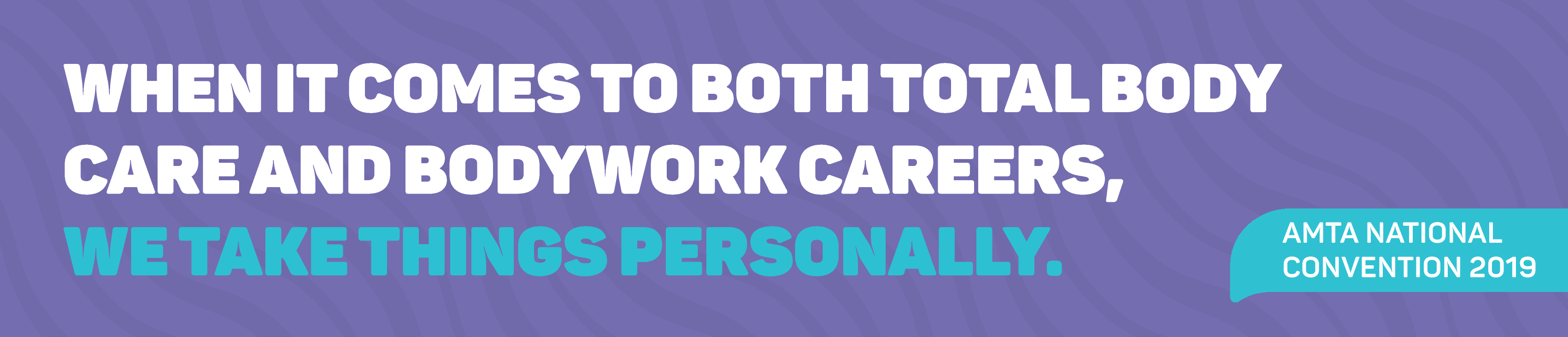 When it comes to both total body care and bodywork careers, we take things personally.