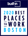 Best Place To Work Badge Boston
