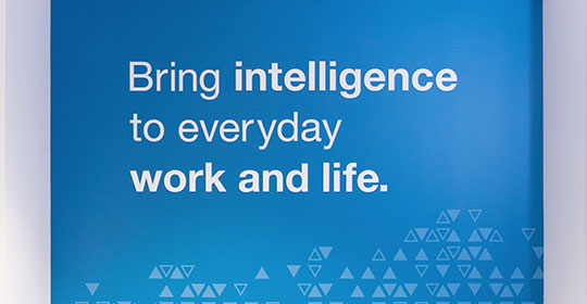 bring intelligence to everyday work and life