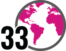 Number of countries where Owens Corning operates