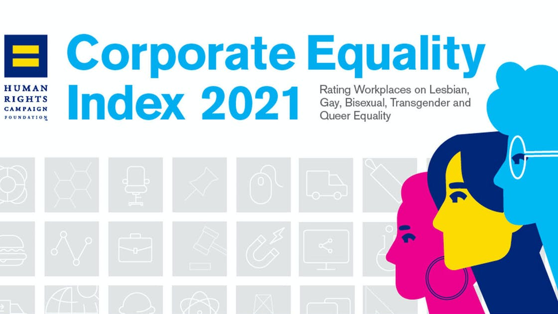 Parexel Corporate Equality Index 2021 by Human Rights Campaign