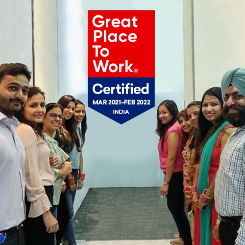 Parexel becomes the first CRO in India to receive 'Great Place to Work' certification. 82 percent of Parexel India colleagues shared that they think Parexel is a Great Place to Work!