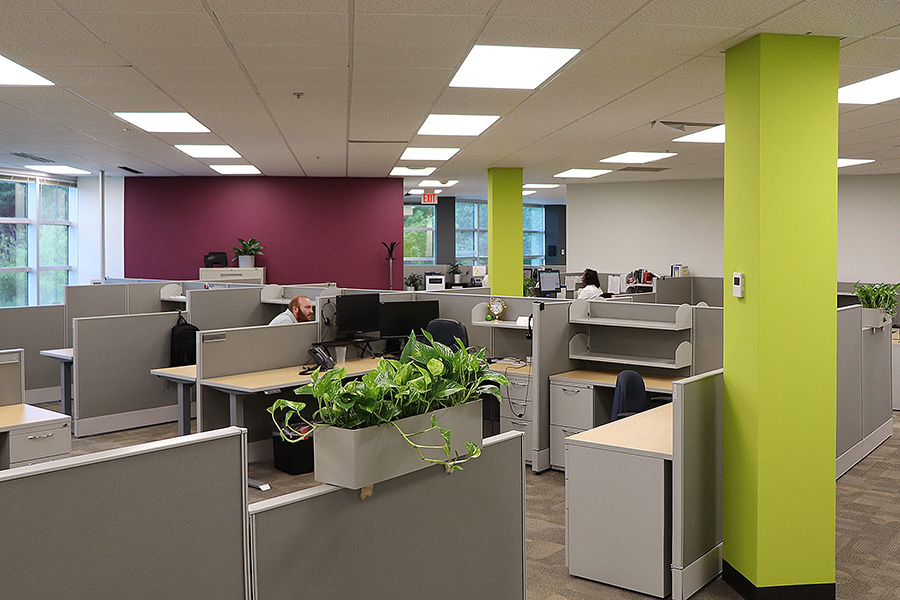 Durham office space cubicles