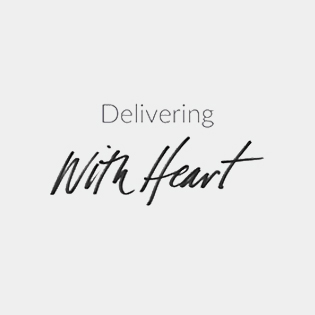 Delivering with heart