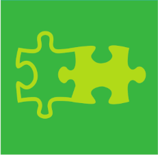 Green puzzle image for United Together