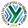 2016 Canada's Top Employer for Young People