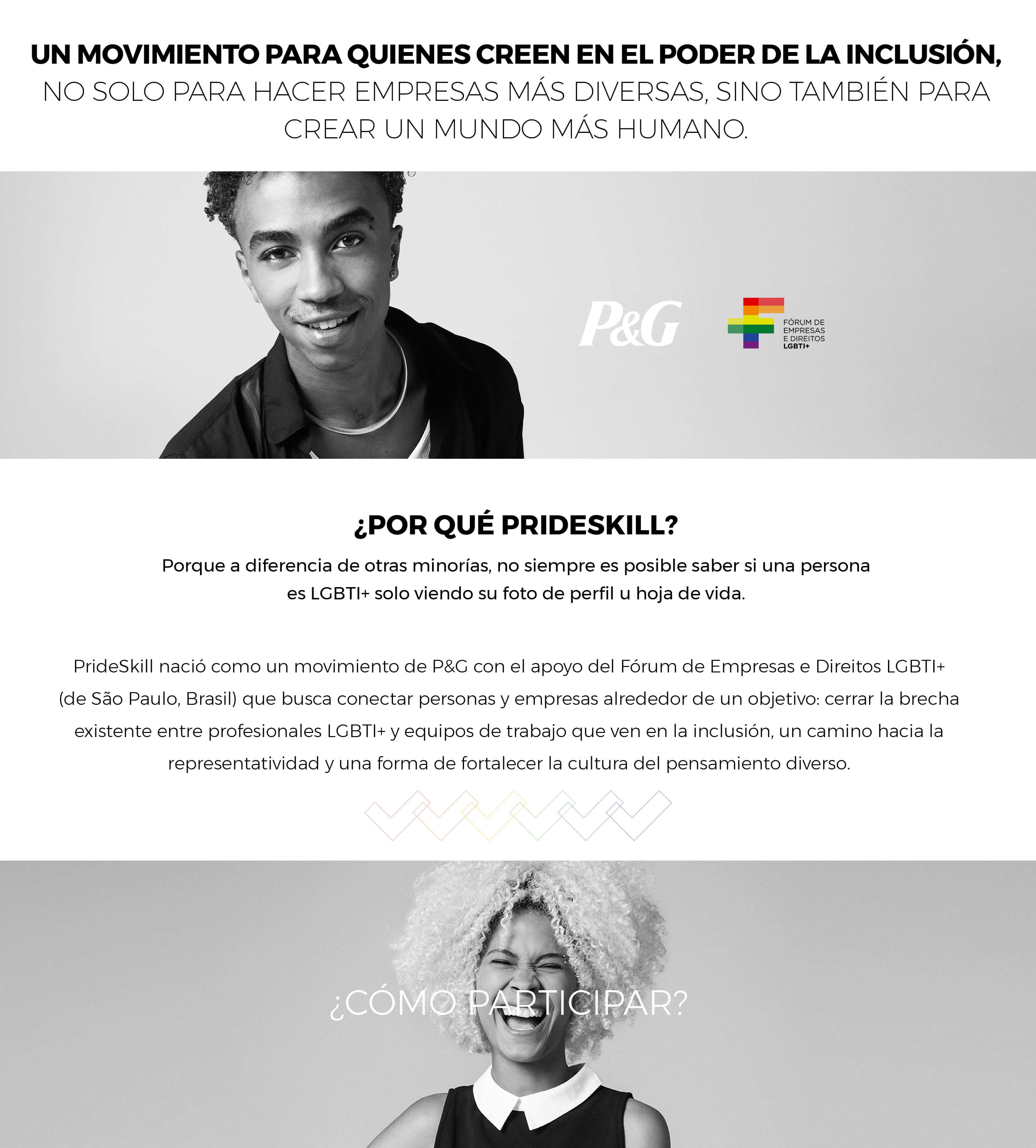 P&G y Coca-Cola México se unen con el movimiento #PrideSkill para fomentar la diversidad en el mercado laboral y celebrar el orgullo LGBTQ+