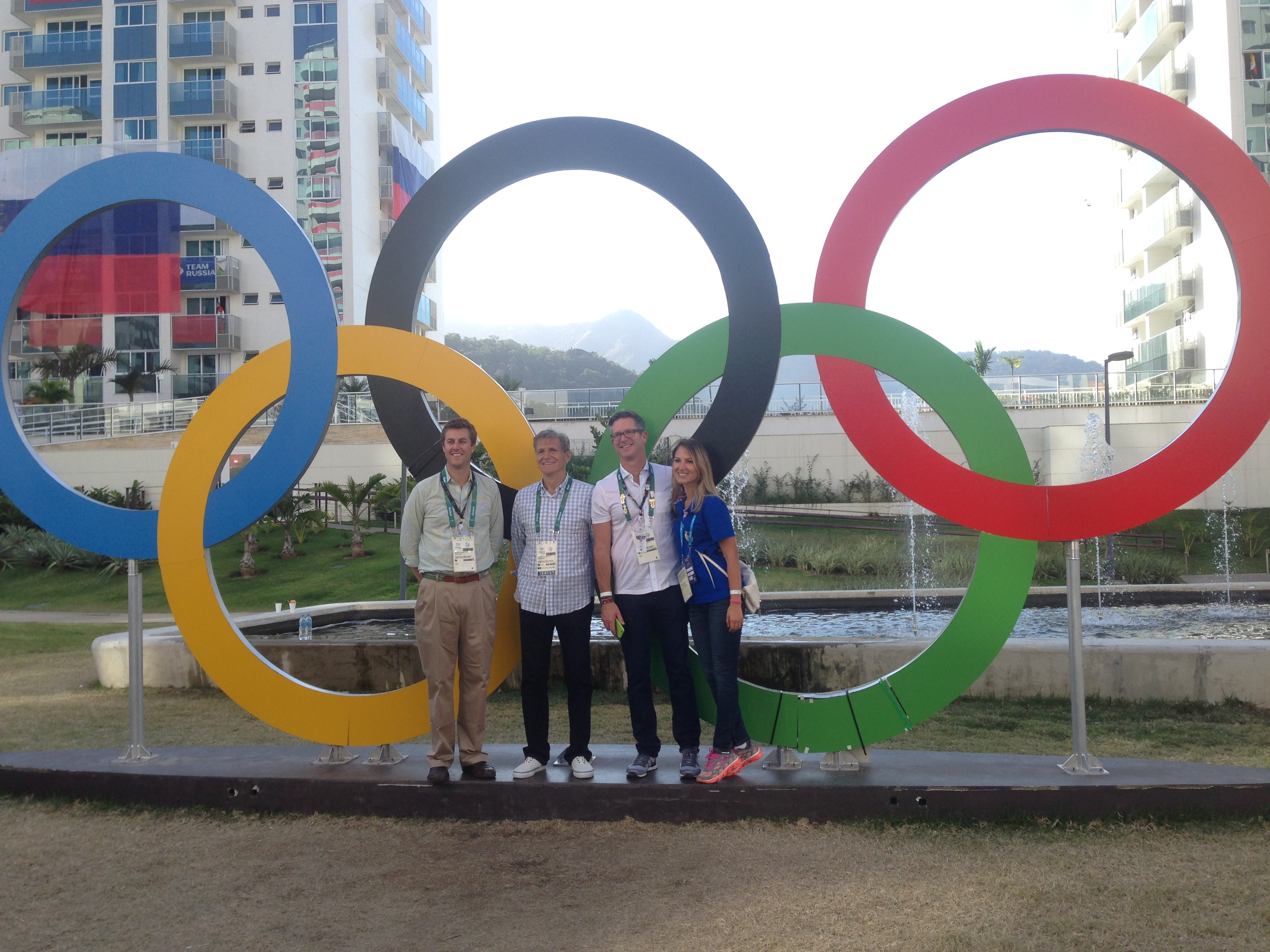 what we learned at the rio games the universal formula of success certainly for some competitors teamwork is key to their success at the olympics how would you describe the role teamwork plays at p g