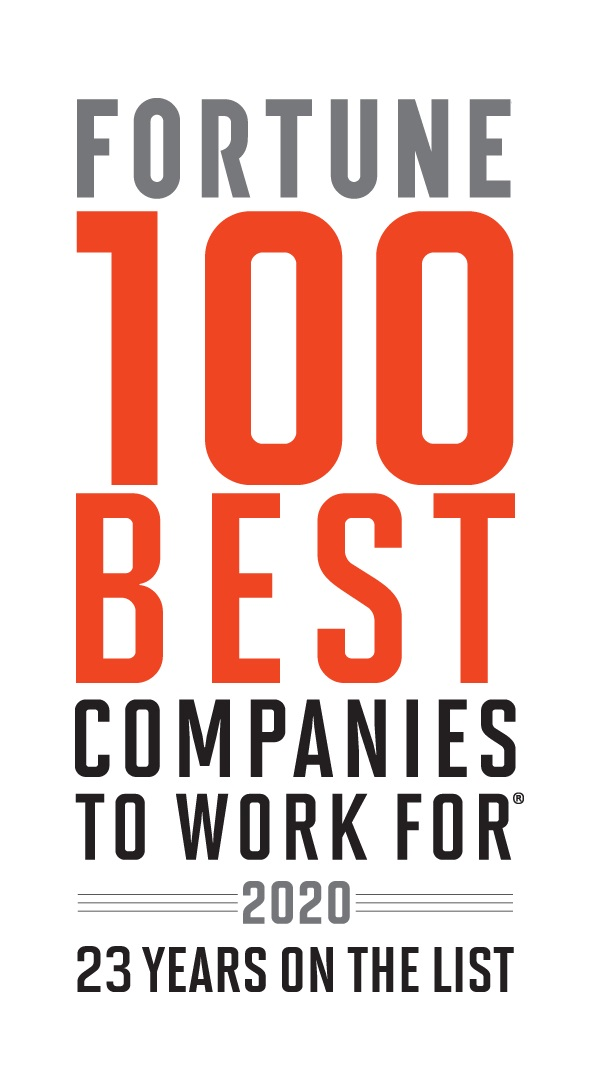 Fortune 100 Best Companies To Work For 2019 logo
